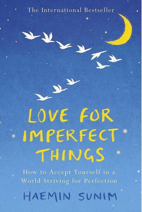 Boek cover Love for Imperfect Things van Haemin Sunim (Paperback)