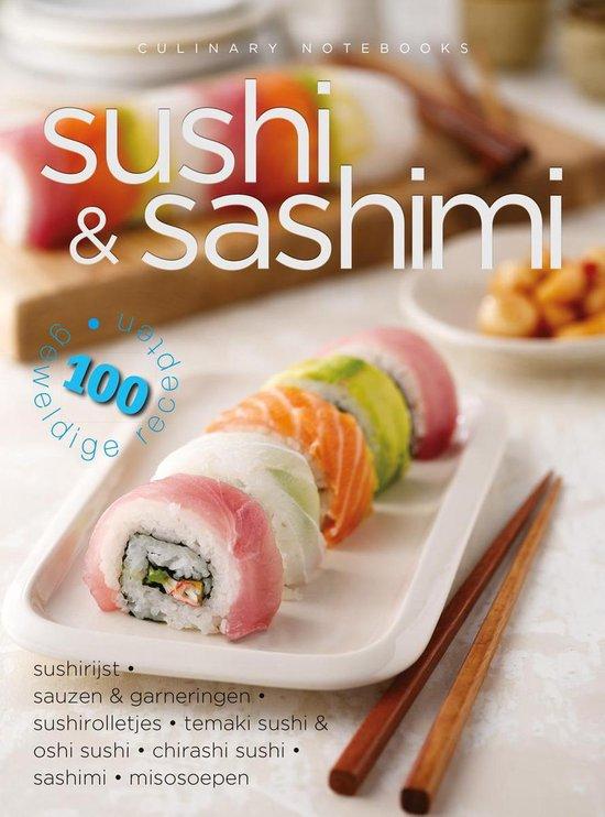 Afbeelding van Culinary notebooks Sushi & Sashimi
