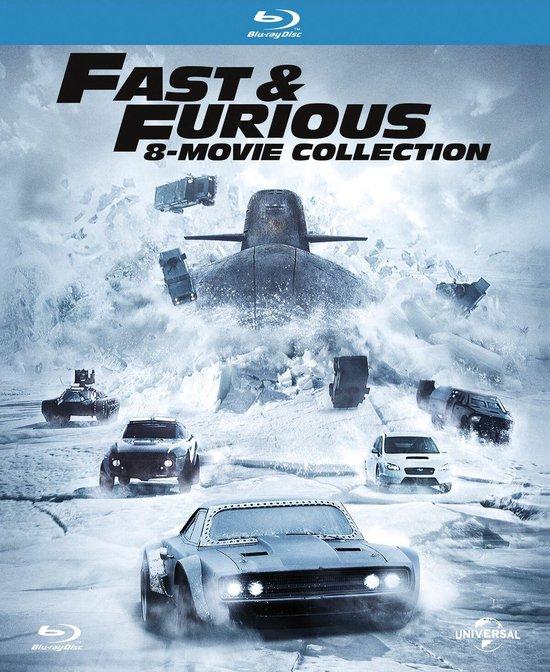 Fast & Furious 1 t/m 8 Boxset (Blu-ray)