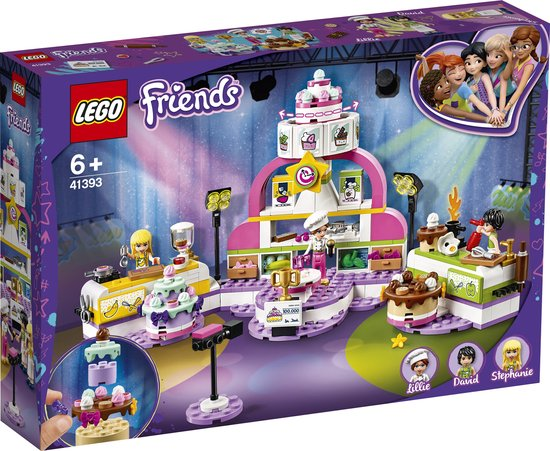 LEGO Friends Bakwedstrijd - 41393