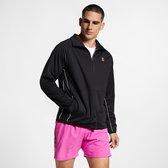 Nike Court Essential Sportvest Heren - Black/White/White - Maat L