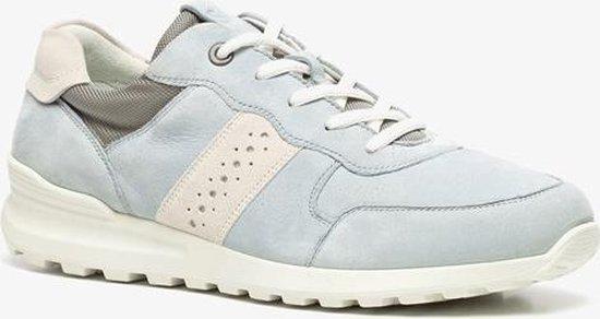 ECCO leren dames sneakers Blauw Maat 38