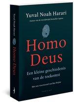 Omslag Homo Deus - Yuval Noah Harari