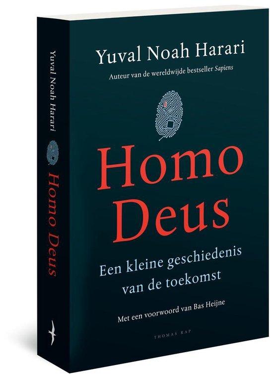 Boekomslag voor Homo Deus