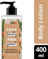 Love Beauty and Planet Bodylotion Shea Butter & Sandelwood Oil - 400 ml