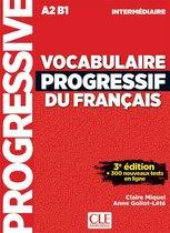 Vocabulaire progressif du français 3e édition - niveau intermédiaire livre + CD audio + appli