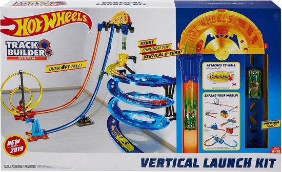 Afbeelding van Hot Wheels Track Builder Verticale Lanceerset - Racebaan