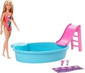 Barbie Zwembad met Pop - Barbiepop