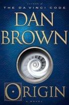 CD cover van Origin van Dan Brown