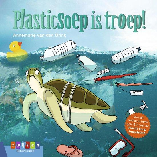Leesserie Estafette  -   Plasticsoep is troep!