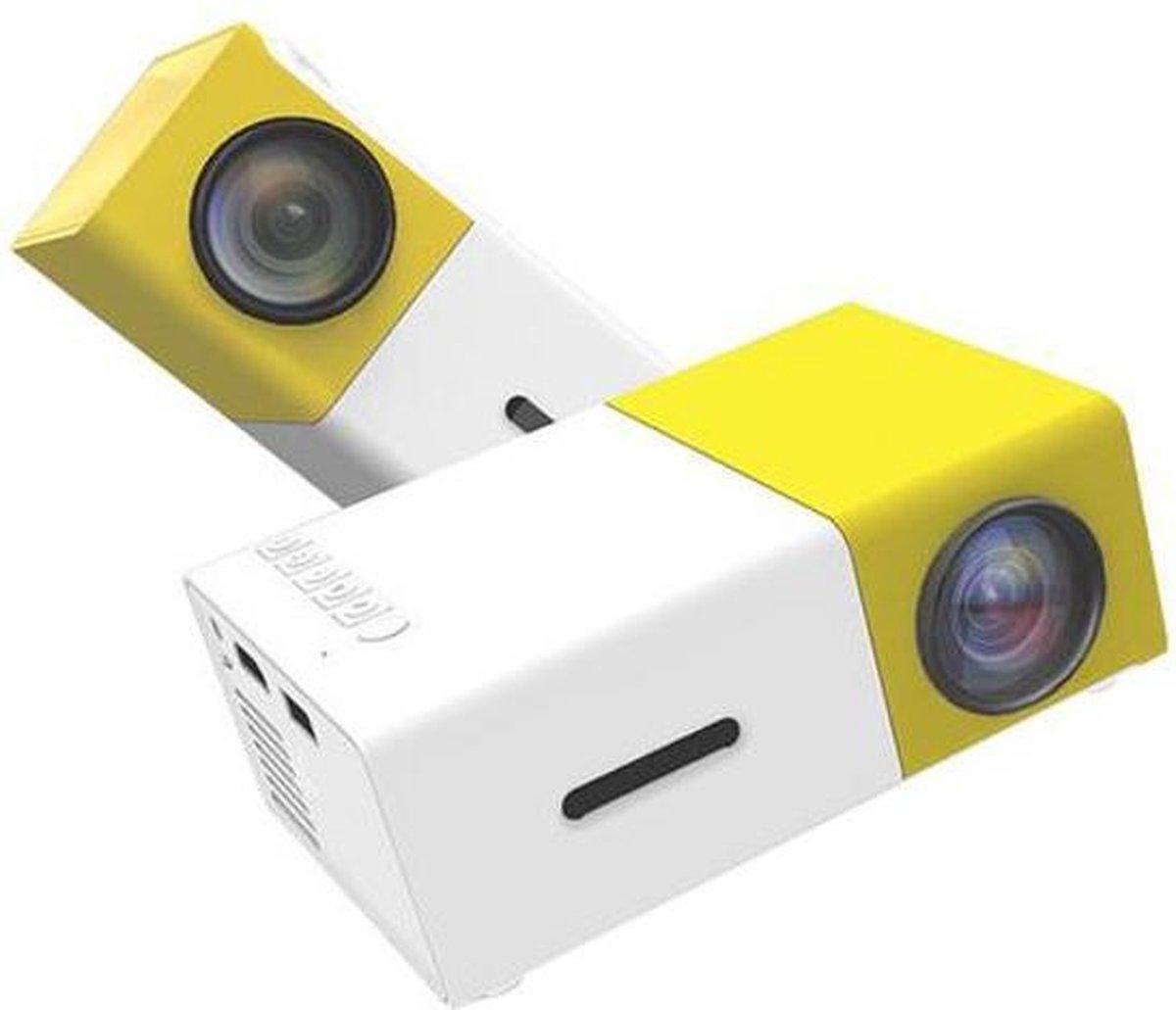 Mini Beamer - Mini Projector Led - Draagbare Pocket Beamer - HDMI