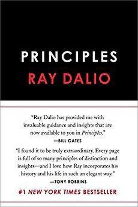 Boek cover Principles van Ray Dalio (Onbekend)