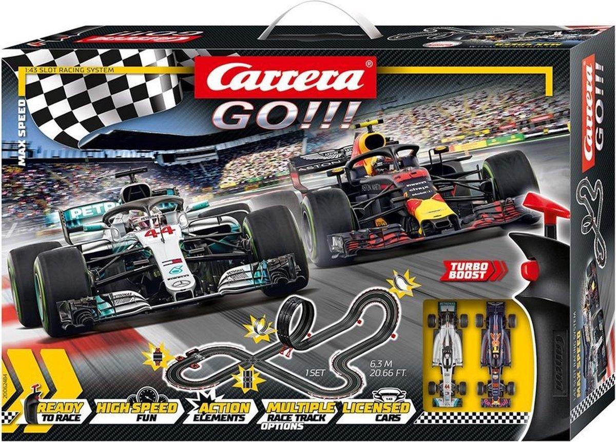 Carrera GO!!! Max Speed - Racebaan