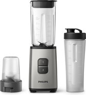 Philips Daily HR2604/80 - Mini Blender - Metallic