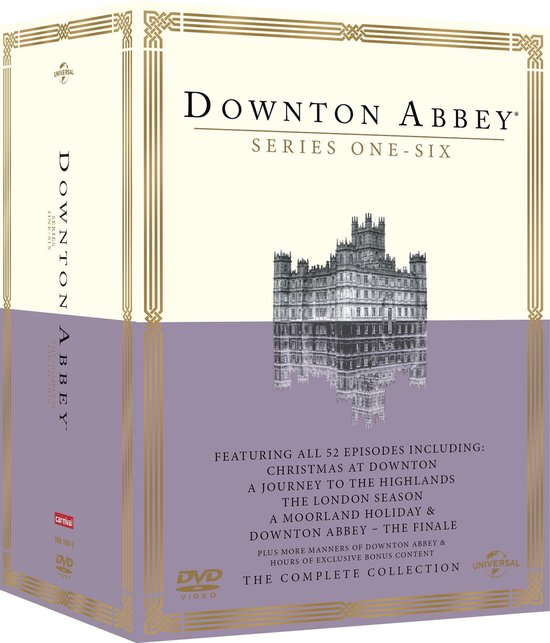 DOWNTON ABBEY S1-6 BOXSET(D/F)[LIMITED E - Tv Series