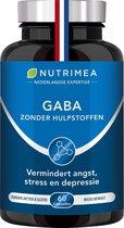 GABA 750 mg - verbetert slaap en vermindert stress - NUTRIMEA - 60 capsules