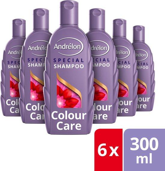 Andrélon Special Krul & Care Sulfaatvrij Shampoo - 6 x 300 ml - Voordeelverpakking