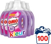 Omo Vloeibaar Wasmiddel Kleur - 5 x 20 wasbeurten - Voordeelverpakking