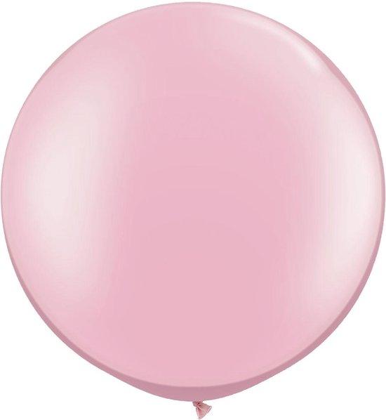 MEGA Topping ballon 61 cm Baby Roze