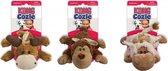 Kong Cozie Naturals - Hondenspeelgoed - Assorti