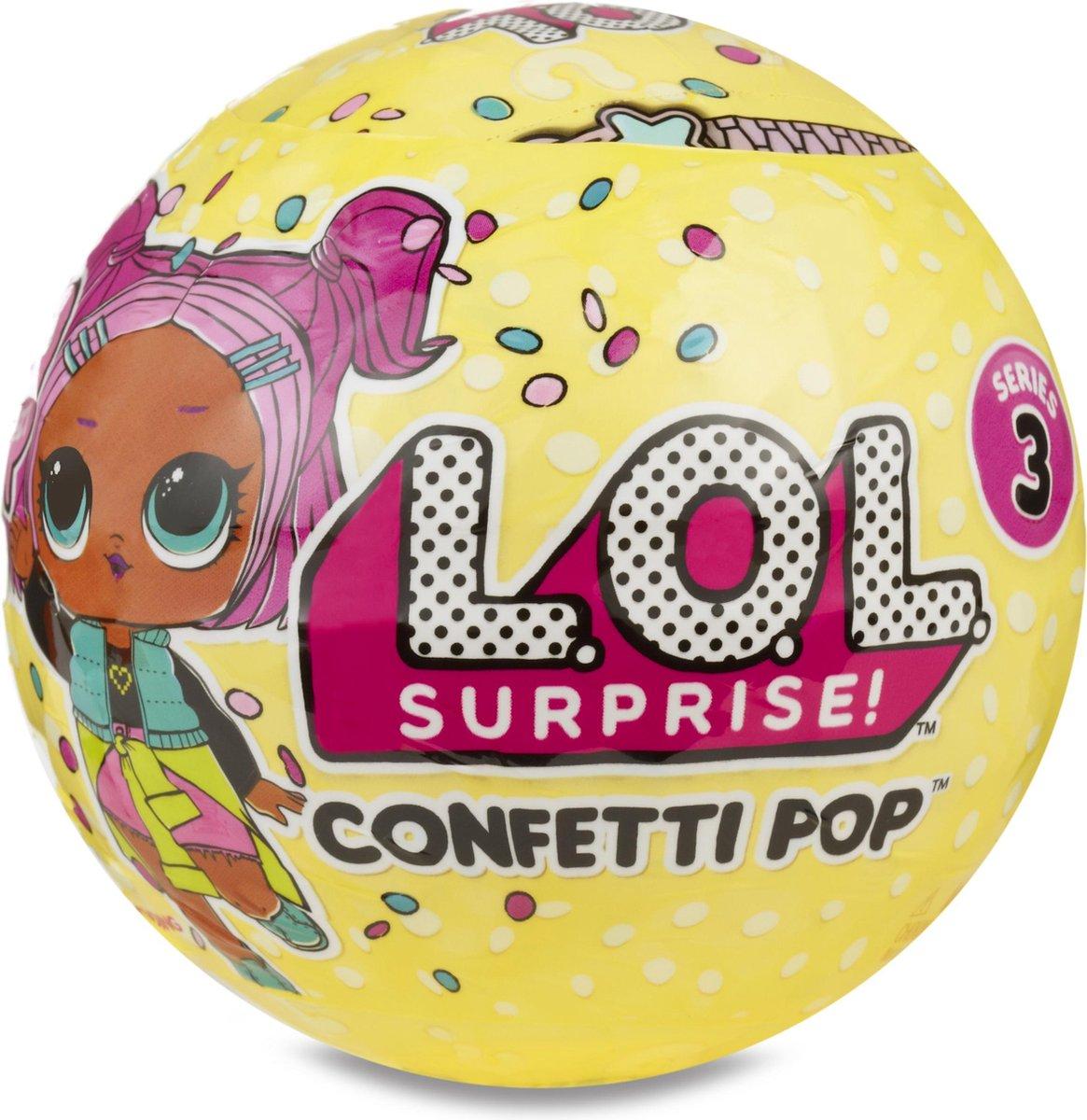 L.O.L. Surprise bal Confetti Serie 3 - L.O.L. Surprise!