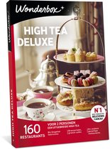 Wonderbox Cadeaubon - High Tea Deluxe