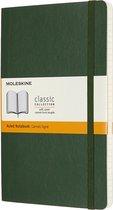 Moleskine Notitieboek-Large-Gelineerd-Groen-Zachte Kaft
