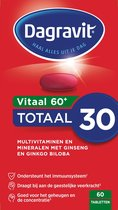 Dagravit Vitaal 60+ Totaal 30 - Multivitamine - 60 tabletten