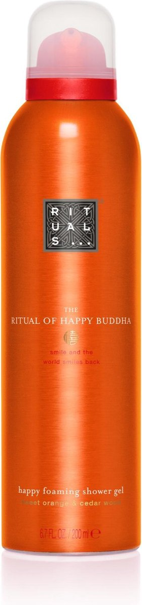 RITUALS The Ritual of Happy Buddha Doucheschuim - 200 ml - RITUALS