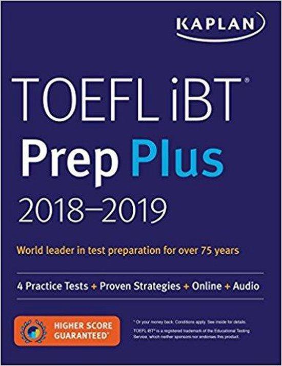 Boek cover TOEFL Ibt Prep Plus 2018-2019 van Kaplan Test Prep