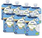 NaturNes® Bio knijpfruit Banaan, Bosbes, Granen 6+mnd
