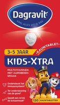 Dagravit Kids-Xtra 3-5 jaar - Multivitamine - Aardbeiensmaak - 120 tabletten