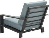 Garden Impressions Lincoln loungestoel - aluminium - mint grijs