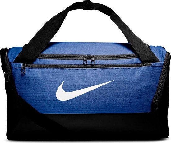 Nike Brsla S Duff 9.0 Unisex Sporttas - Game Royal/Black/White - One Size