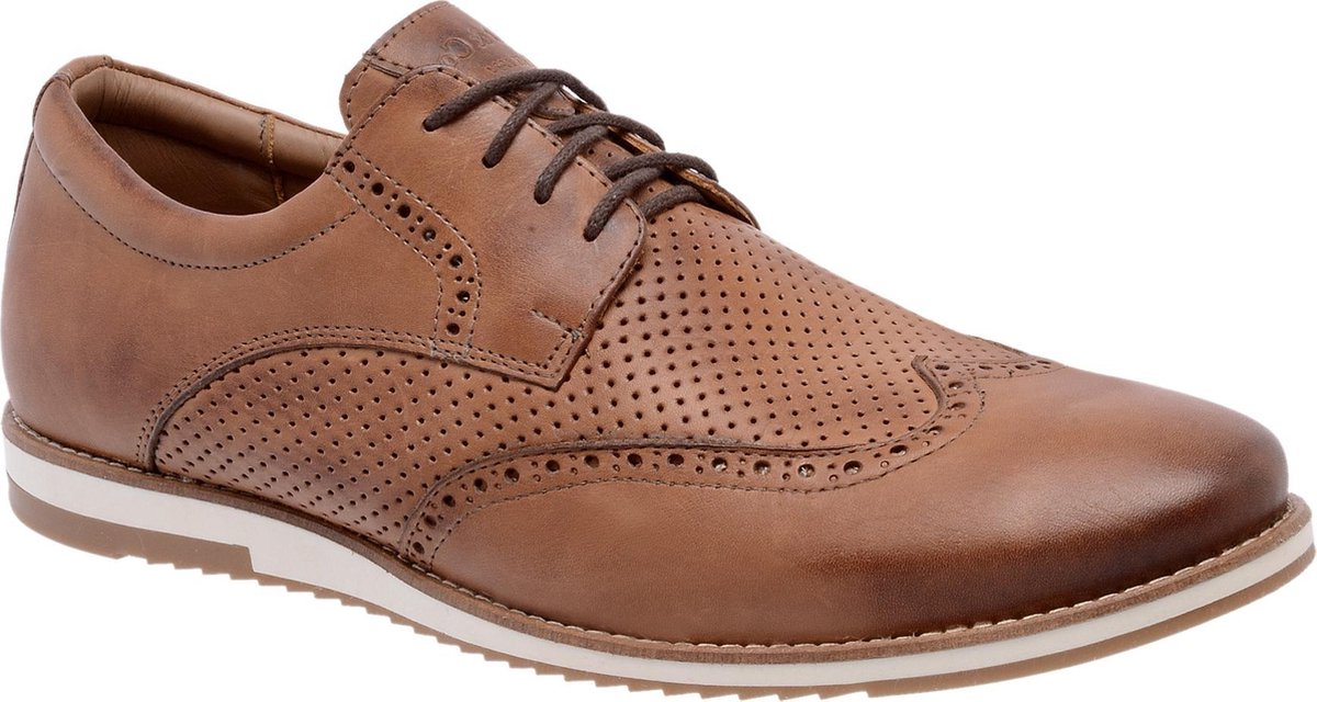 Galutti Handmade Leather Shoes - Sport Social  - Whiskey - 40 (EU)
