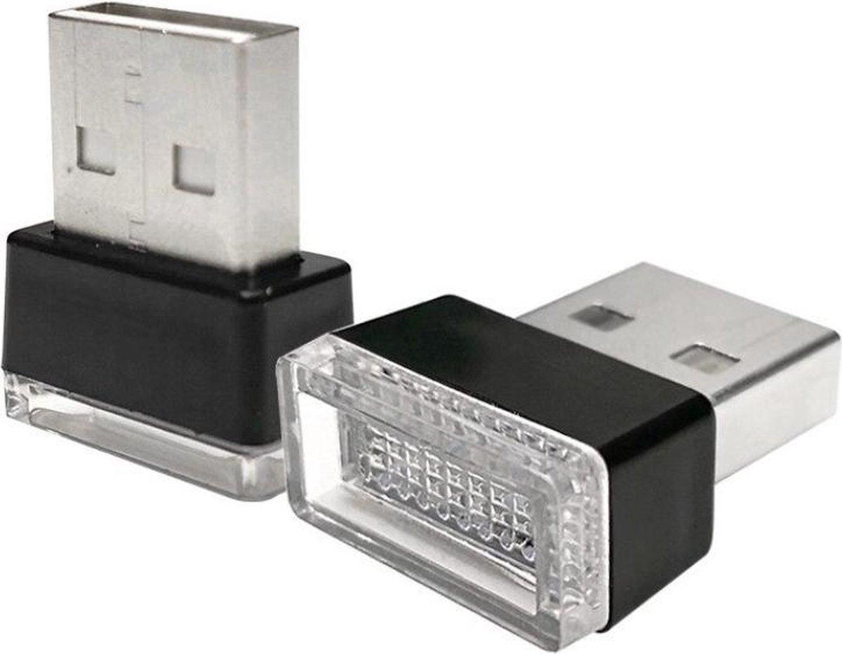 Mini USB lampje - LED - Extra fel - Voor laptop, PC, notebook en computer - Flexibel - Universele USB verlichting - Leeslamp - Wit