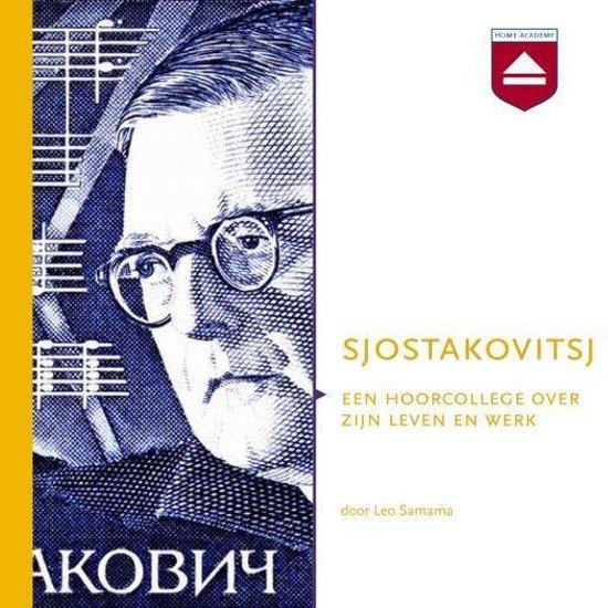 Boek cover Sjostakovitsj van Leo Samama (Onbekend)