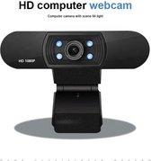 Webcam - HD - Apple - Microsoft - Inclusief Verlichting - Meeting - Conference - Thuis Werk - Vergaderen - Zakelijk - Bedrijf (Levertijd uiterlijk 4 weken)