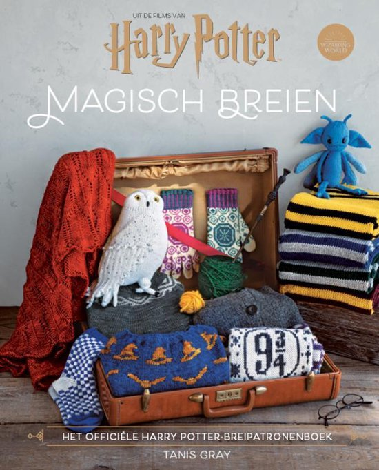 Boek cover Harry Potter-Magisch Breien van Tanis Gray (Hardcover)