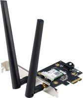 ASUS PCE-AX3000 WLAN - Draadloze netwerkadapter - Geschikt voor Wifi 6 - Bluetooth - 3000 Mbit/s