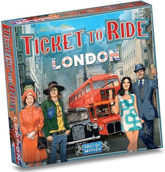 Afbeelding van het spel Ticket to Ride London - Bordspel (Engels)