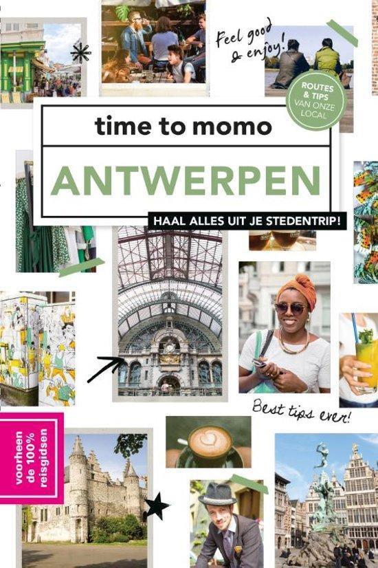 Cover van het boek '100% Antwerpen' van Sabine Lefever