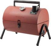 Gusta Houtskoolbarbecue - Smoker - Rood