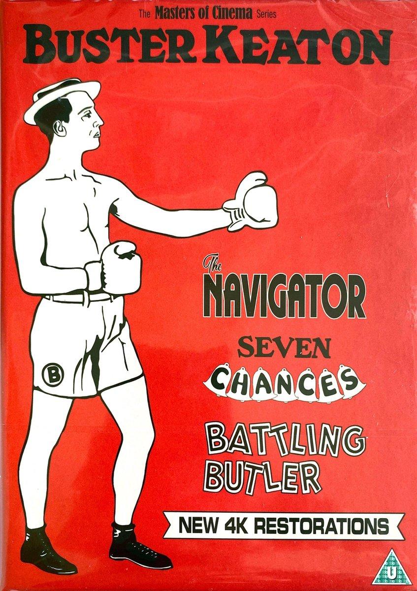 Buster Keaton: 3 Films (Volume 2) (The Navigator, Seven Chances, Battling Butler) Limited Edition Blu-ray-