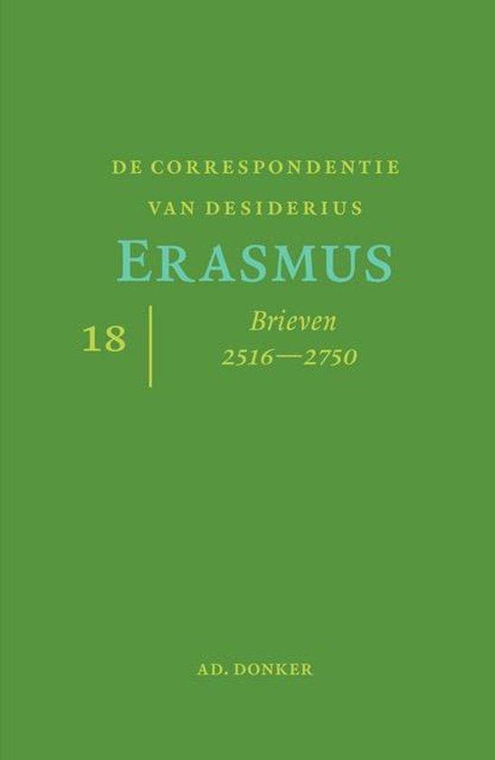 De correspondentie van Desiderius Erasmus deel 18