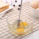 Semi-automatische roterende garde- eierklopper-pannenkoekenbeslag-slagroomklopper-mixer