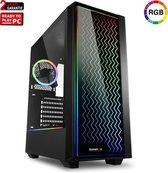 ScreenON - Fotobewerking Computer [AMD Ryzen 5 2600, 16GB RAM] Windows 10 Desktop PC