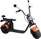 Elephant - Elektrische Scooter - 25km/h - Actieradius 30km - Oranje