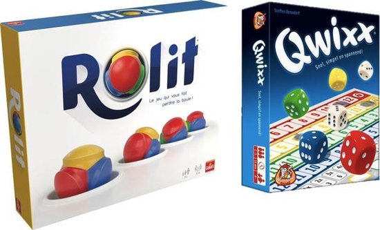 Afbeelding van het spel Spelvoordeelset Rolit '19 & Qwixx - Dobbelspel