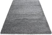 Flycarpets Life Shaggy Vloerkleed - 160x230 cm - Lichtgrijs